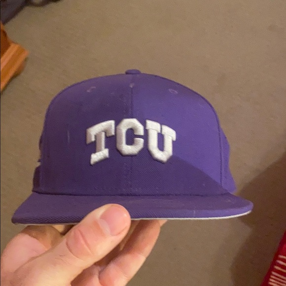 TCU baseball hat